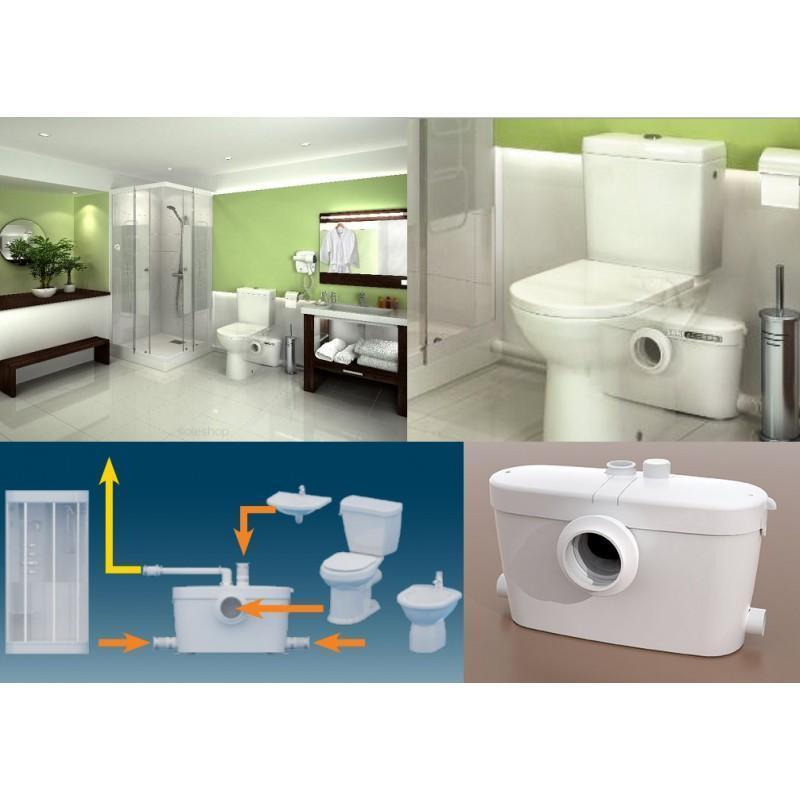 Réparation wc sanibroyeur